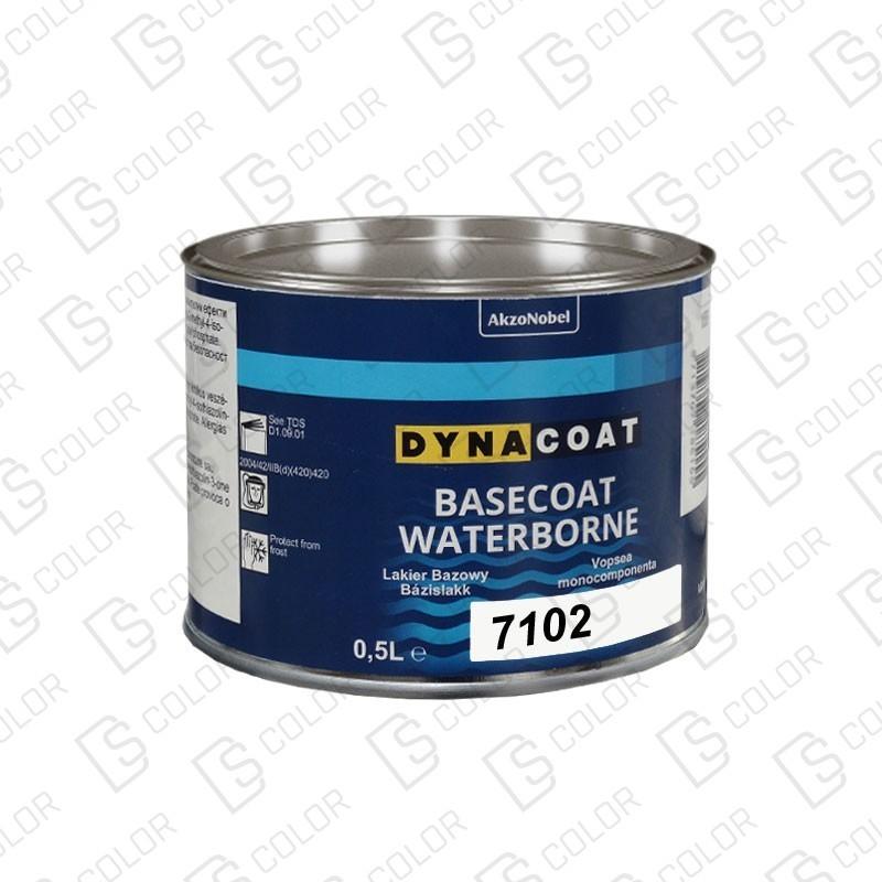 DS Color-BASECOAT WATERBORNE-DYNACOAT WB 7102 0.5L