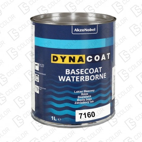 DS Color-BASECOAT WATERBORNE-DYNACOAT WB 7160 1L