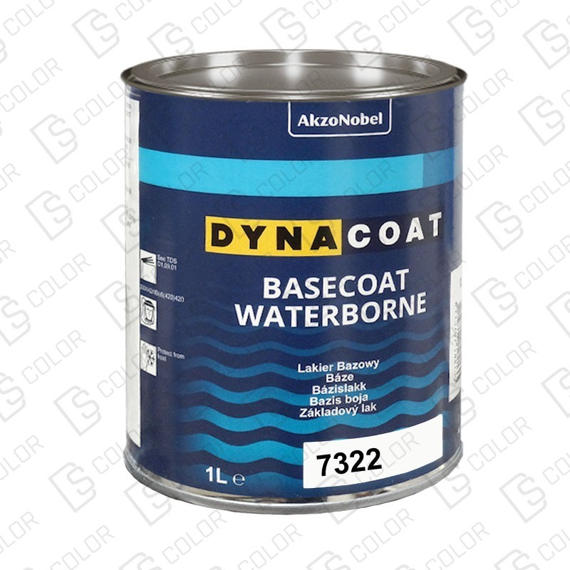 DS Color-BASECOAT WATERBORNE-DYNACOAT WB 7322 1L