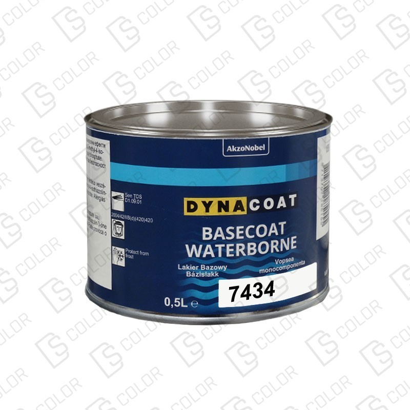 DS Color-BASECOAT WATERBORNE-DYNACOAT WB 7434 0.5L