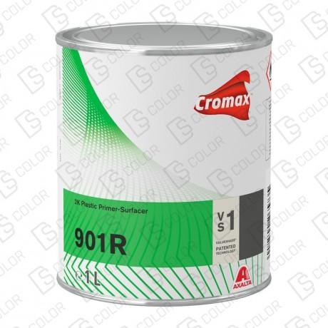 DS Color-CROMAX APAREJOS-CROMAX IMPRIMACION PLASTICOS 901R 2K BLANCO 1LT