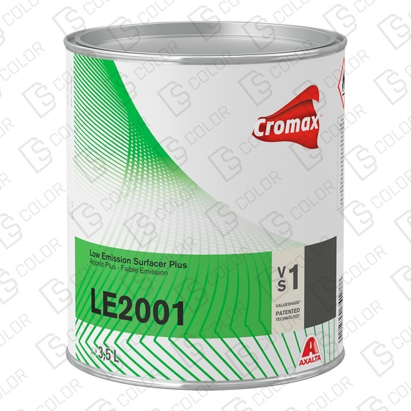 DS Color-CROMAX APAREJOS-CROMAX LE2001 LOW EMISSION PRIMER WHITE 3,5 LT.