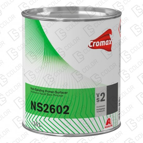 DS Color-CROMAX APAREJOS-CROMAX NS2602 NON SANDING PRIMER WHITE 3.5L