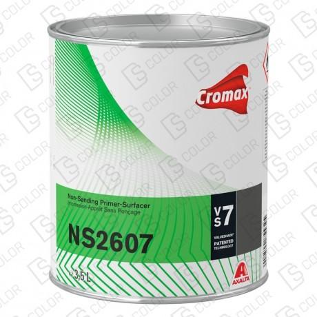 DS Color-CROMAX APAREJOS-CROMAX NS2607 NON SANDING PRIMER NEGRO 3.5L