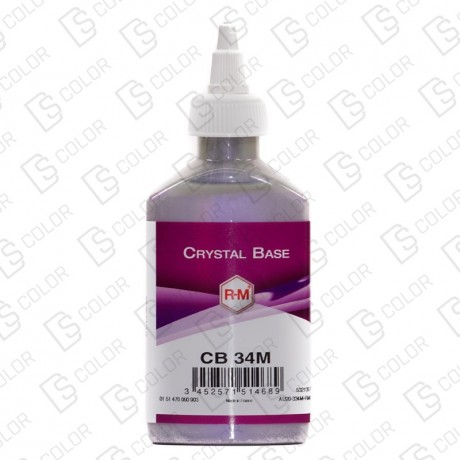 DS Color-CRYSTALBASE-RM CRYSTAL BASE CB34M 0.125ML Violet Pearl