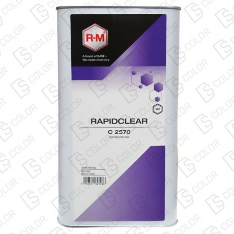 DS Color-RM BARNICES-RM BARNIZ C2570 RAPIDCLEAR 5L.