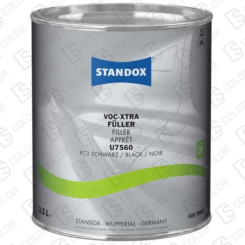 DS Color-STANDOX APAREJOS-STANDOX U7560 IMPRIMACION VOC XTRA NEGRA 3,5L