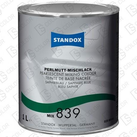 DS Color-BASISLACK-STANDOX 2K MIX 839 1LT S.H. MB587