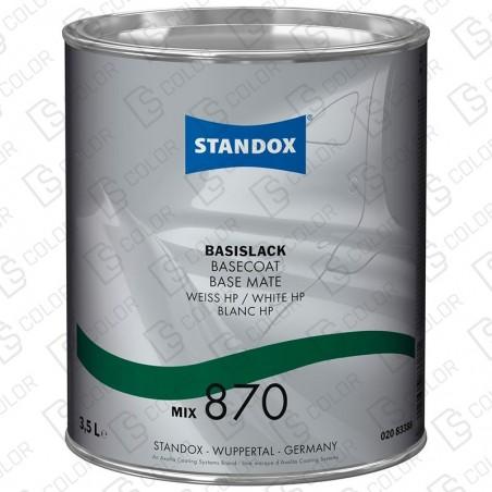 DS Color-BASISLACK-STANDOX 2K MIX 870 3,5L S.H. MB511