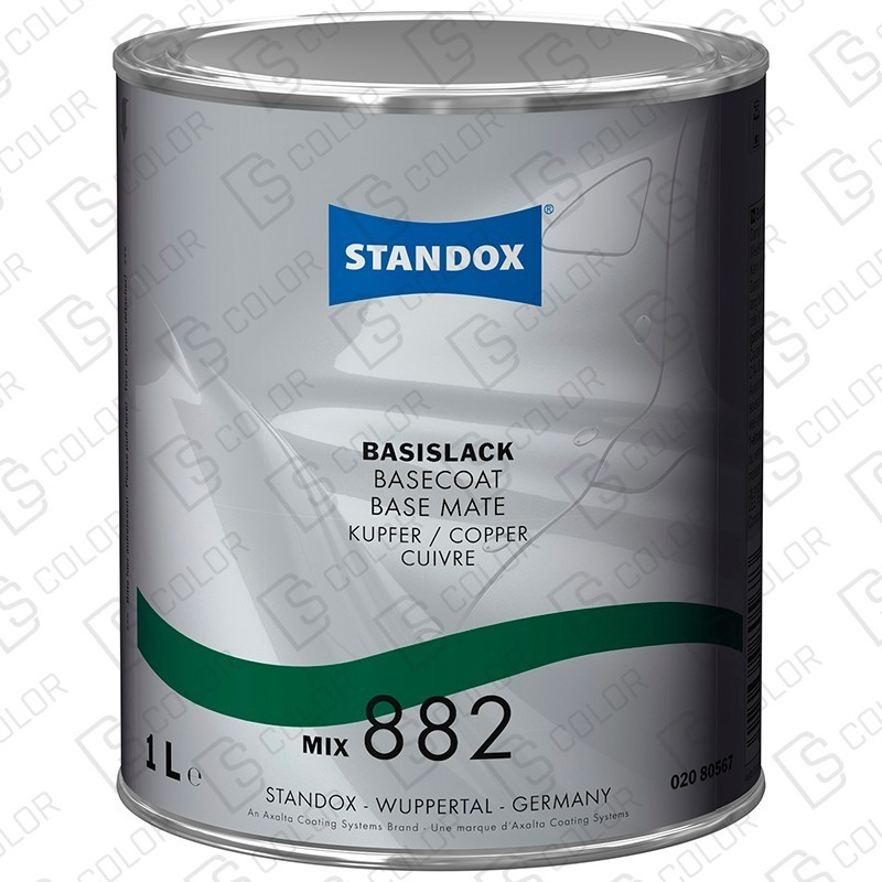 DS Color-BASISLACK-STANDOX 2K MIX 882 1LT S.H. MB530