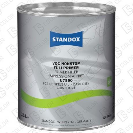 DS Color-STANDOX APAREJOS-STANDOX U7550 IMPRIMACION VOC NONSTOP GRIS OSCURO 3,5L