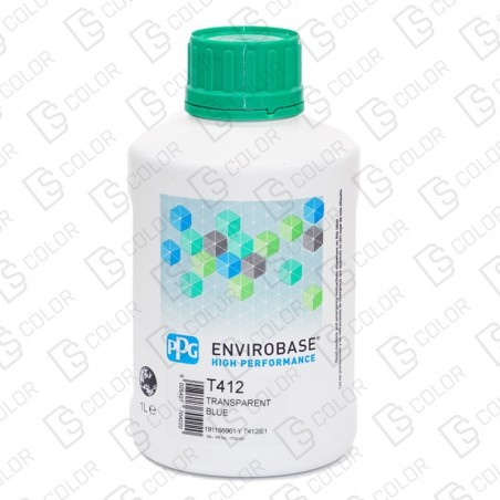 DS Color-ENVIROBASE HP-PPG ENVIROBASE MIX T412 1LT
