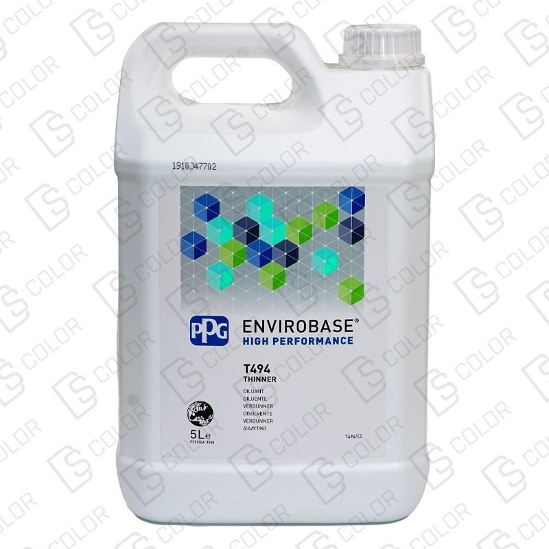DS Color-ENVIROBASE HP-PPG ENVIROBASE DILUYENTE MIX T494 5LT