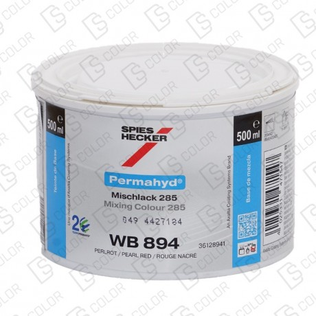 DS Color-PERMAHYD-SPIES HECKER WB894 PERLROT 0.5LT