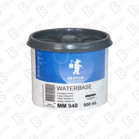 DS Color-WATERBASE SERIE 900-DE BEER MM948  0.5L W.B. Tr Orange