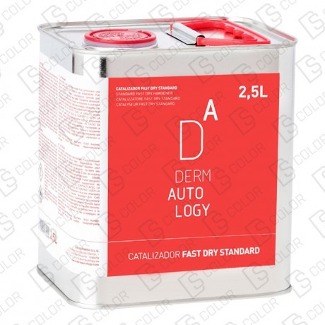 DS Color-DERMAUTOLOGY CATALIZADORES-DERMAUTOLOGY CATALIZADOR FASTDRY STANDARD 2,5 LT.