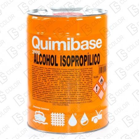 DS Color-ACELERANTES-QUIMIBASE ALCOHOL ISOPROPILICO 5L.