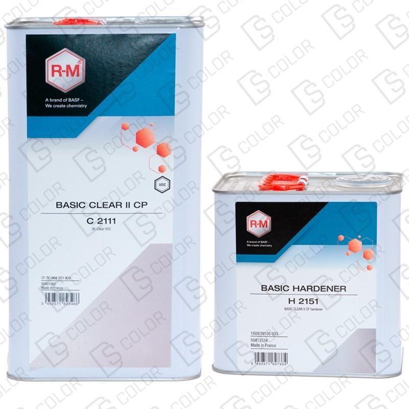 DS Color-RM BARNICES-RM KIT BASIC CLEAR 2 CP(Barniz 1x5L+Cat 1x2.5L)