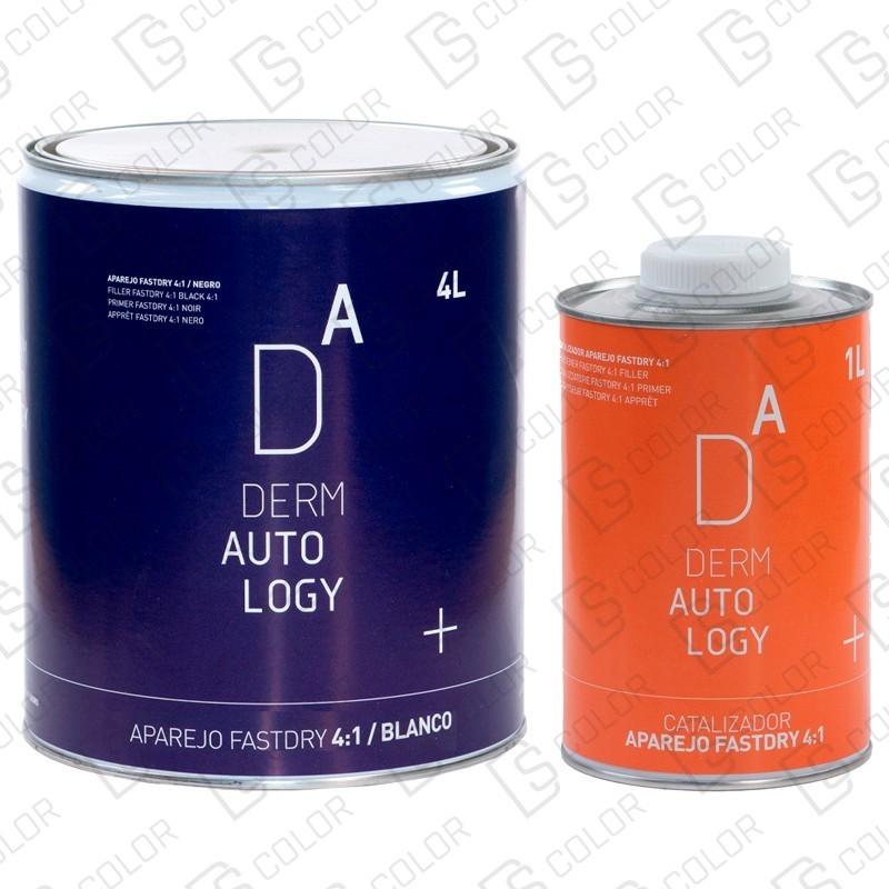 DS Color-DERMAUTOLOGY APAREJO-KIT DERMAUTOLOGY APAREJO FASTDRY 4:1 BLANCO 4L + CATAL 1L