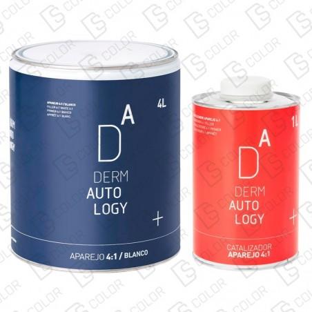 DS Color-DERMAUTOLOGY APAREJO-KIT DERMAUTOLOGY APAREJO 4:1 BLANCO 4LT + CATALIZADOR 1LT