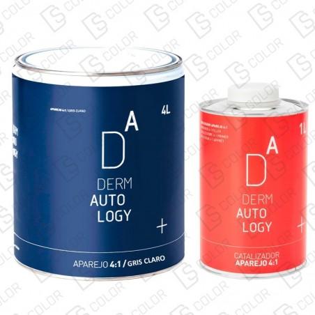 DS Color-DERMAUTOLOGY APAREJO-KIT DERMAUTOLOGY APAREJO 4:1 GRIS CLARO 4LT + CATALIZ. 1LT