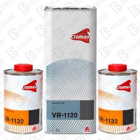 DS Color-CROMAX BARNICES-KIT DUPONT VR1120 (1u.) + VR1132 (2u.) Lento