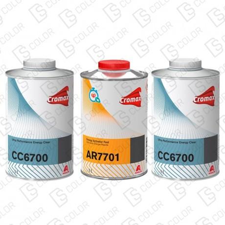 KIT CROMAX BARNIZ CC6700 2x1LT+CAT AR7701 1X1L.