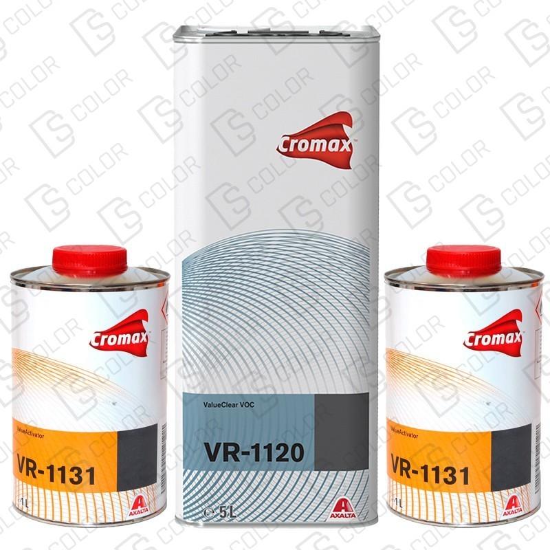 DS Color-CROMAX BARNICES-KIT DUPONT VR1120 (1u.)+VR1131 (2u.) Normal