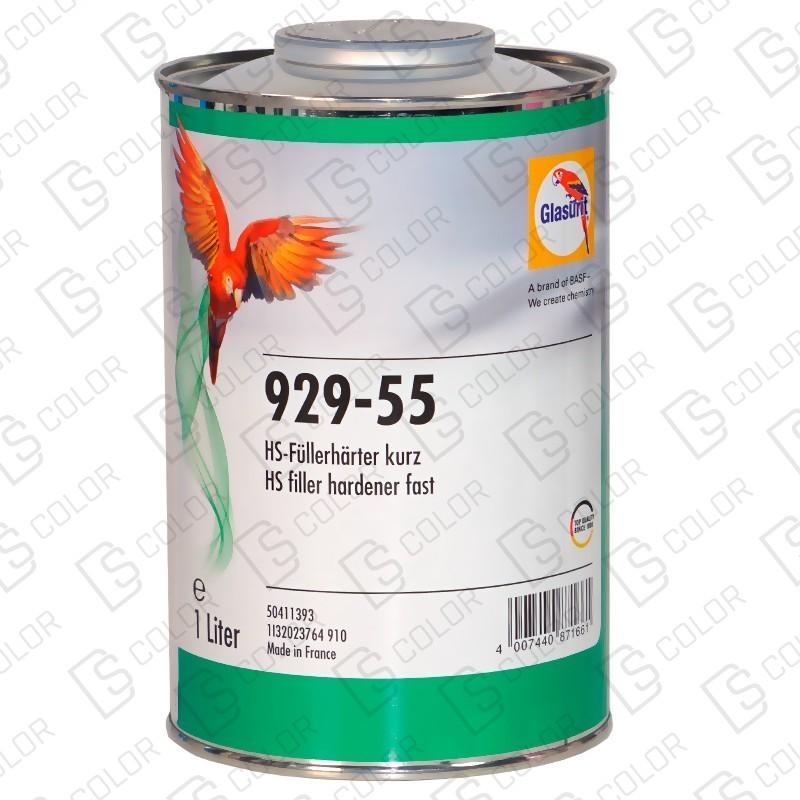 DS Color-GLASURIT CATALIZADORES-GLASURIT CATALIZADOR 929-55 1LT (rapido)