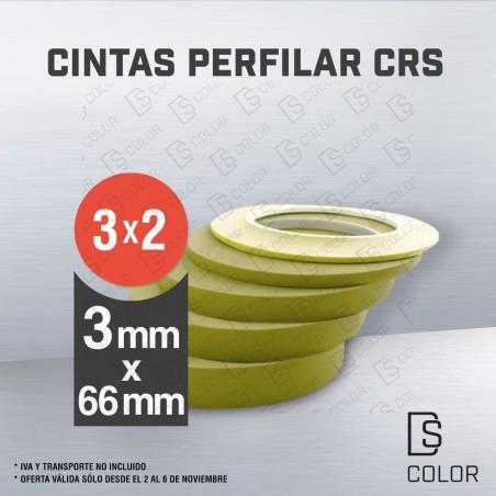 DS Color-CINTAS ADHESIVAS-CRS CINTA DE PERFILAR 3MM X 66M