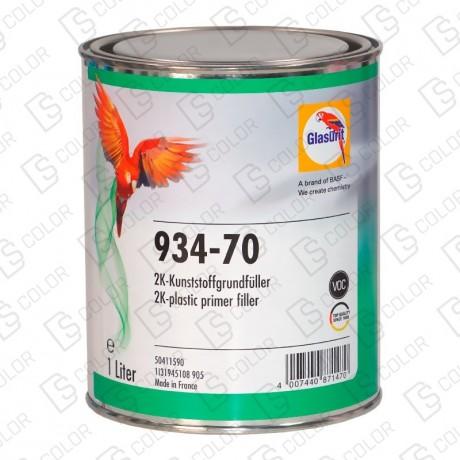 DS Color-GLASURIT APAREJOS-GLASURIT 934-70 2K VOC PLASTIC PRIMER 1LT