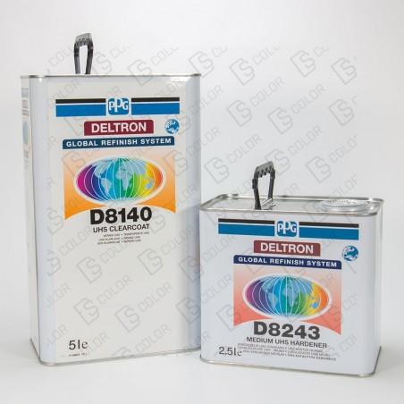DS Color-PPG BARNICES-KIT PPG D8140 2K UHS BARNIZ 5Lit.+ D8243 2.5L NORMAL