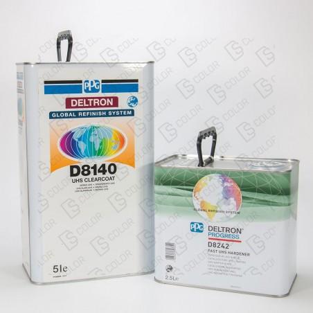 DS Color-PPG BARNICES-KIT PPG D8140 2K UHS BARNIZ 5Lit.+ D8242 2.5L RAPIDO