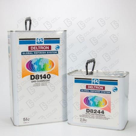 DS Color-PPG BARNICES-KIT PPG D8140 2K UHS BARNIZ 5Lit.+ D8244 2.5L LENTO