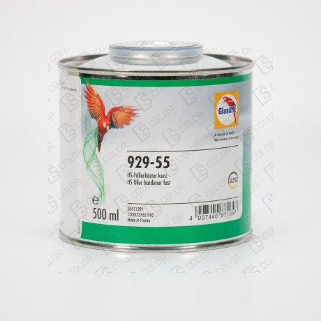 DS Color-GLASURIT CATALIZADORES-GLASURIT CATALIZADOR 929-55 0.5L (rapido)