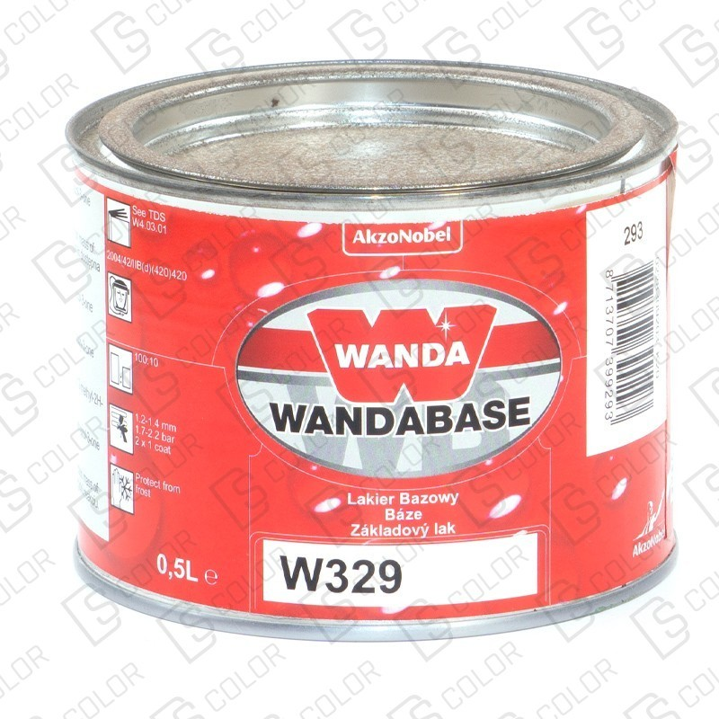 DS Color-OUTLET WANDA-WANDA WB329 ROJO (NARANJA) 0,5LT//OUTLET