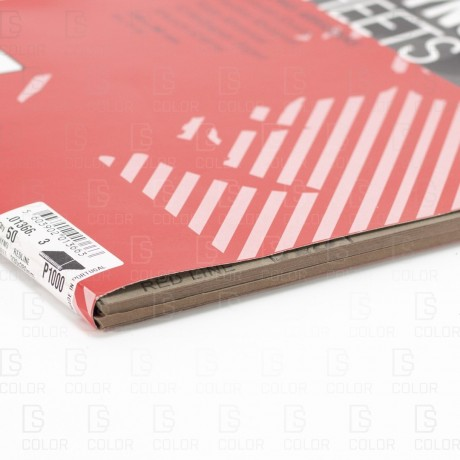 INDASA RHYNOWET RED LINE HOJA 230x280 P1000 unidad