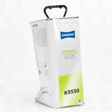 DS Color-OUTLET STANDOX-STANDOX BARNIZ VOC 2K CLEAR K9550 5L //OUTLET