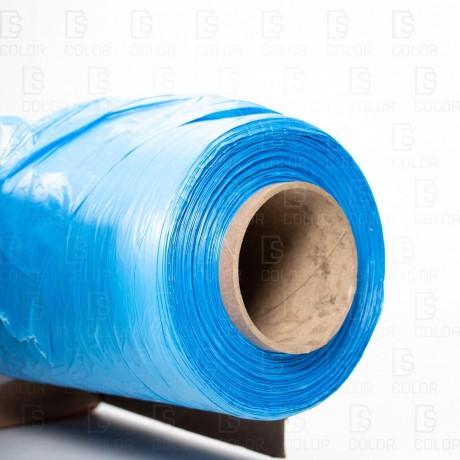 DS Color-COLAD ENMASCARADO-COLAD PLASTICO CUBRE COCHE AZUL 4x150MT.