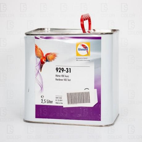 DS Color-OUTLET GLASURIT-GLASURIT CATALIZADOR 929-31 2.5LT RAPIDO //OUTLET