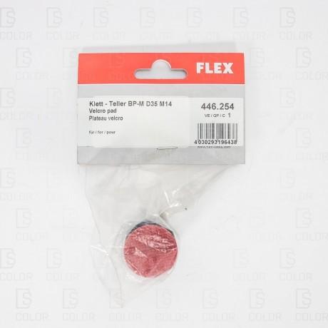 FLEX  DISCO VELCRO ACOLCHADO M14 35MM