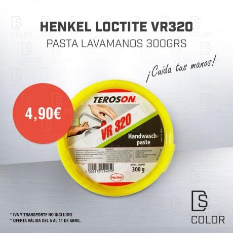 HENKEL LOCTITE VR320 PASTA LAVAMANOS 300GRS