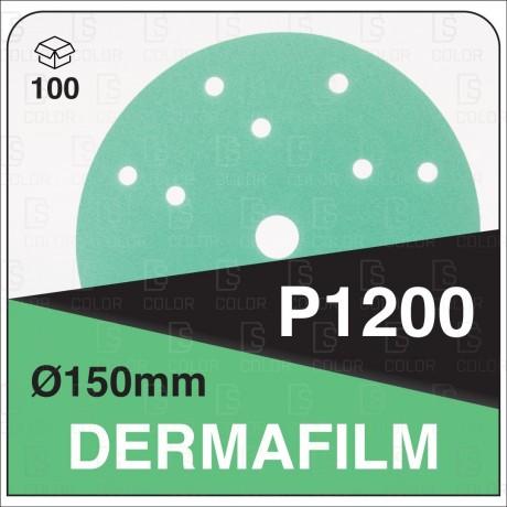 DERMAUTOLOGY ABRASIVO DERMAFILM P1200 150mm 15AG (100u)