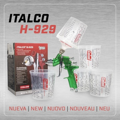 DS Color-ITALCO-ITALCO PISTOLA H-929 HVLP 1.6//OUTLET