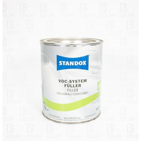 DS Color-OUTLET STANDOX-STANDOX VOC SYSTEM FULLER HELLGRAU 1L//OUTLET
