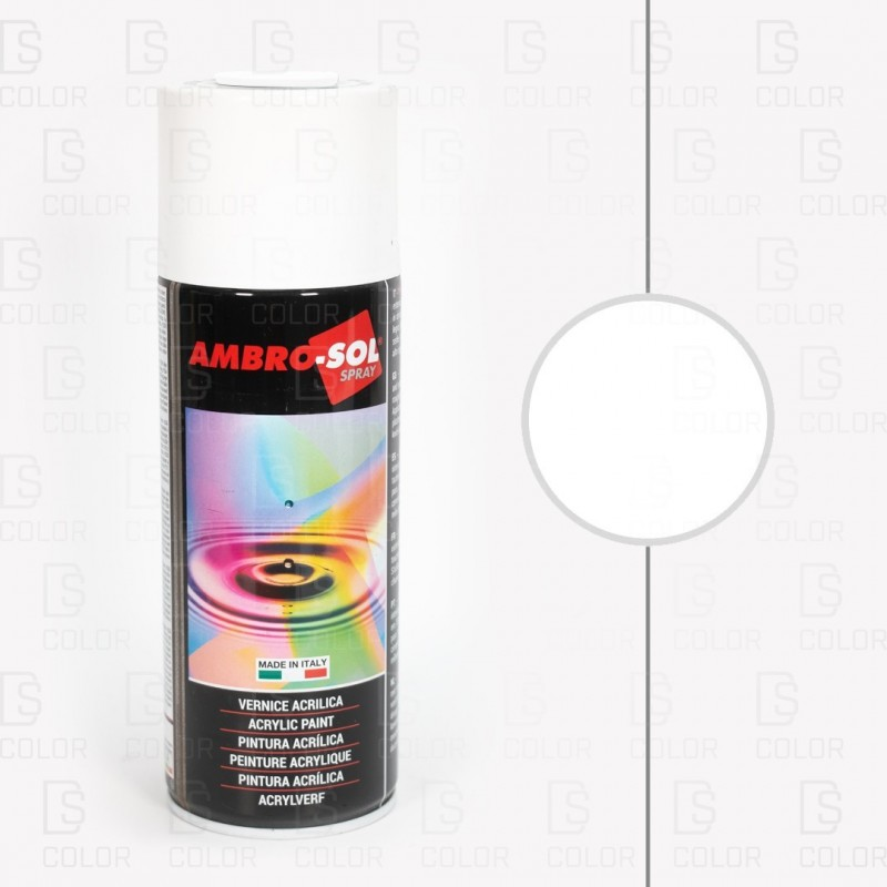 DS Color-AMBROSOL-SPRAY AMBROSOL RAL9010 BLANCO SATINADO