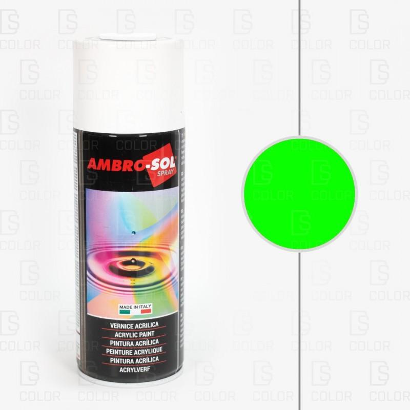 DS Color-AMBROSOL-SPRAY AMBROSOL 400ml FLUORESCENTE VERDE