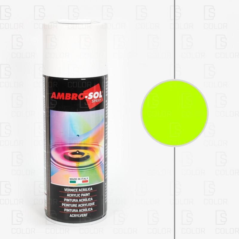 DS Color-AMBROSOL-SPRAY AMBROSOL 400ml FLUORESCENTE AMARILLO