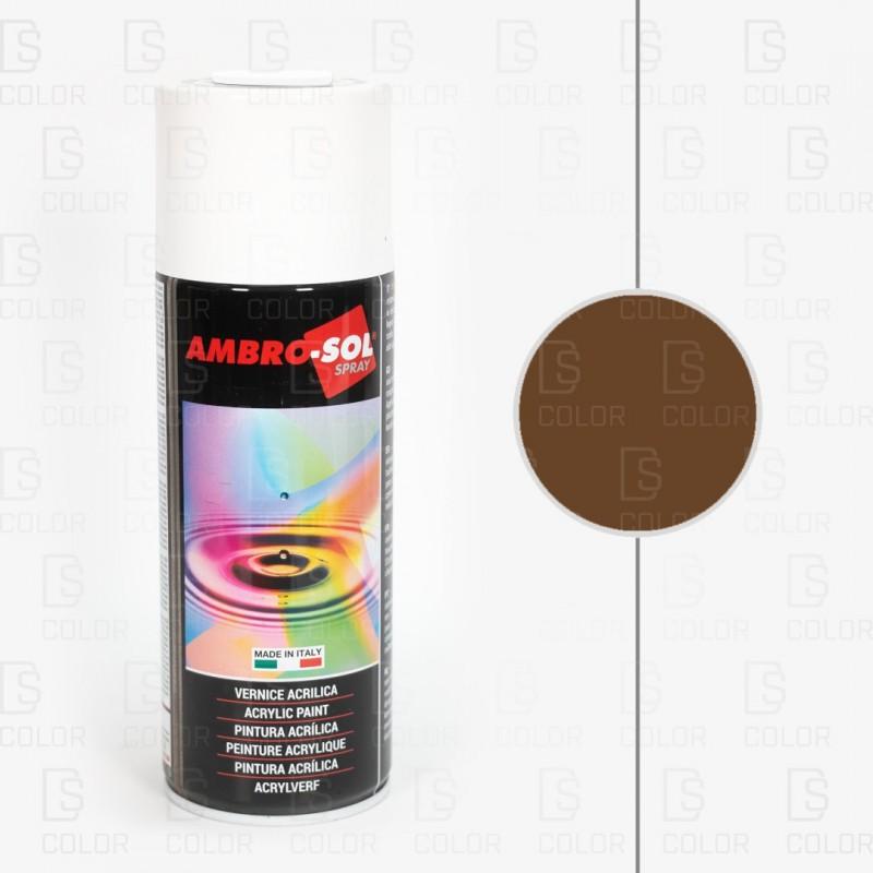 DS Color-AMBROSOL-SPRAY AMBROSOL RAL8022 MARRON