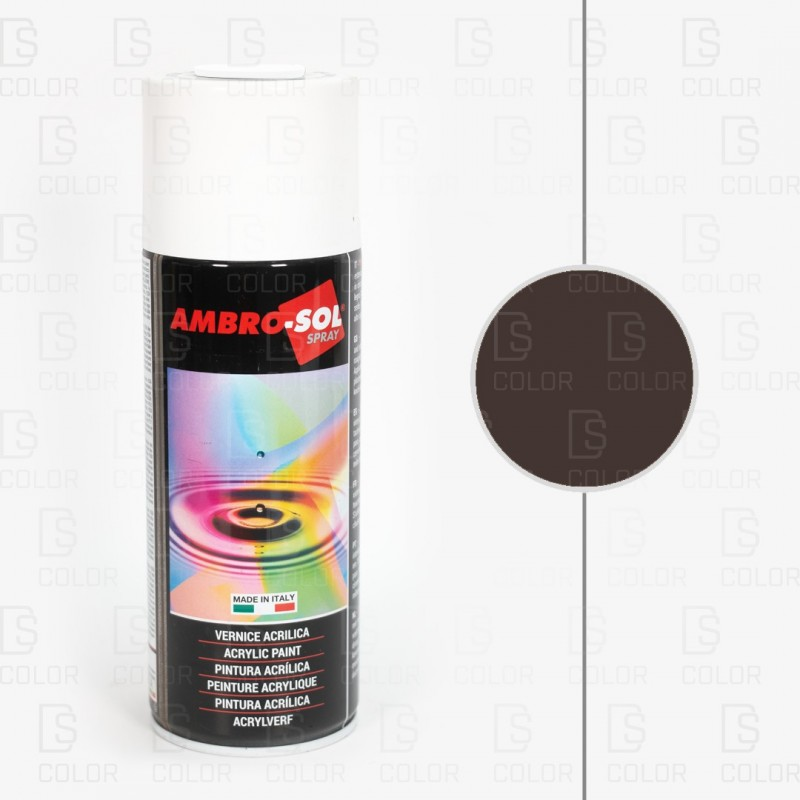 DS Color-OUTLET AMBROSOL-SPRAY AMBROSOL RAL8017 MARRON CHOCOLATE//OUTLET